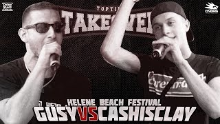 Gusy vs. Cashisclay - Takeover Freestyle Contest | Helene Beach Festival (Finale)