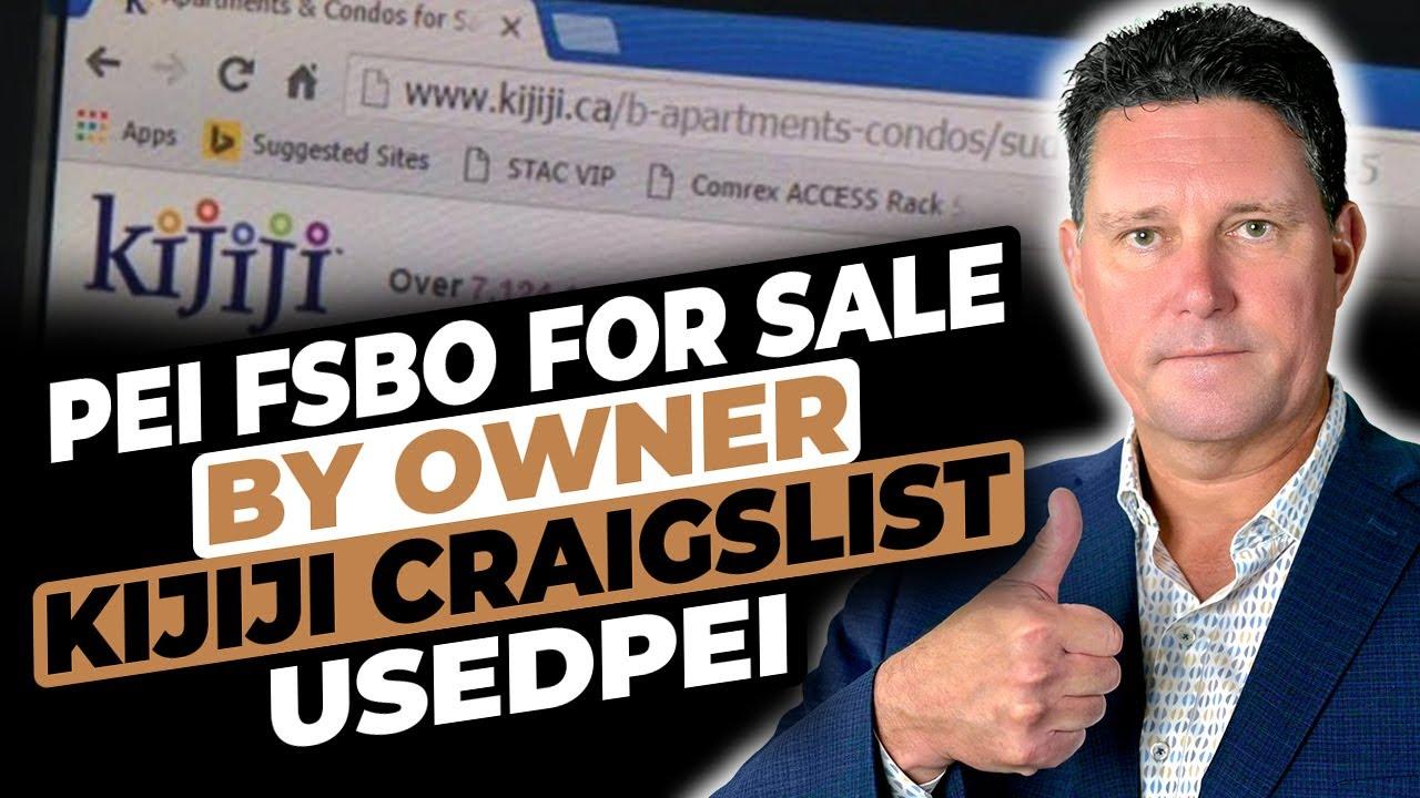 PEI FSBO For Sale By Owner Kijiji Craigslist UsedPEI Usedeverywhere MLS for  sale private