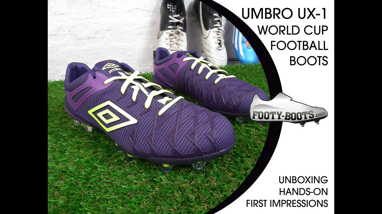 on sale 86077 1f006 Umbro UX-1 - Unboxing, Hands-on   First Impressions