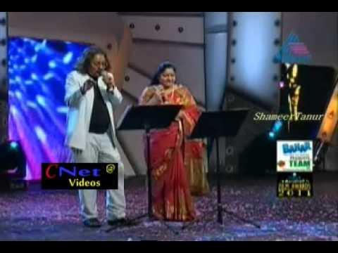 Aaro padunnu doore_hariharan   ks chitra ujala asianet film award 2011