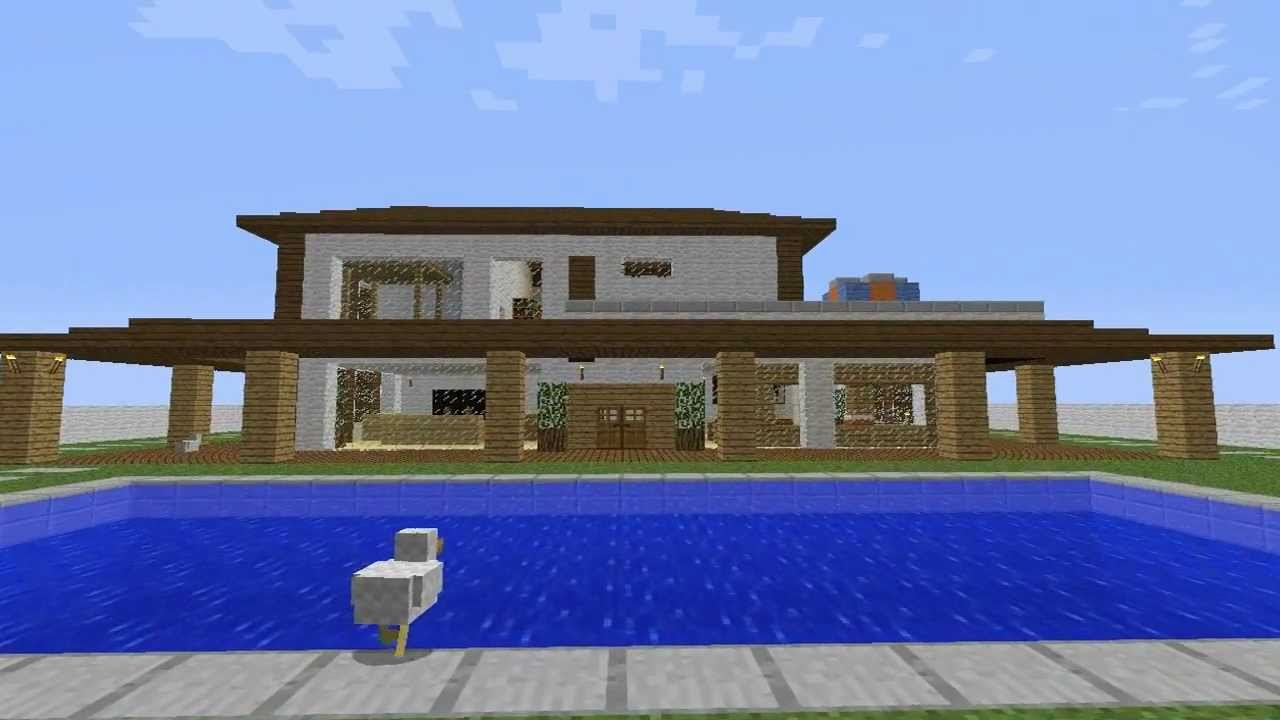 Primeiro video minecraft constructions casa de campo for Minecraft videos casas