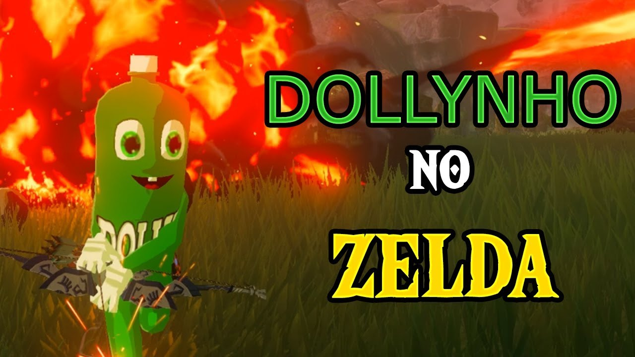 Mod traz um amiguinho diferente a The Legend of Zelda: Breath of the