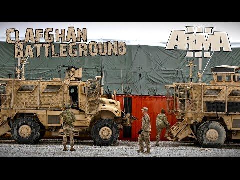 ARMA III - BATTLEGROUND CLAFGHAN - Gameplay - Convoy en Korengal - 1 / 2