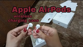 Apple AirPods | wireless charging case | Review | The Mini Cuts |