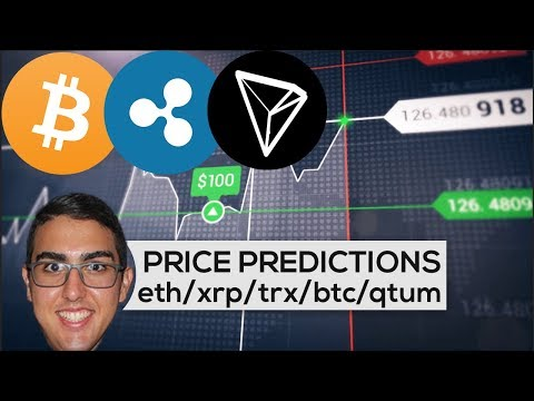 Price Predictions: Ethereum ($ETH), Ripple ($XRP), Tron ($TR