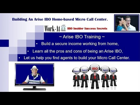 Work From Home - Arise IBO Training - Learn How To Earn Over $5,000 Per Month!