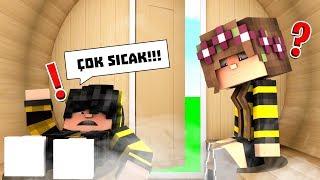SICAK ODADAN SON ÇIKAN KAZANIR! 😱 Minecraft
