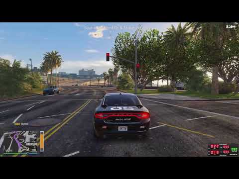 GLG | Los Santos Police Traffic Unit #3 | Officer in Trouble