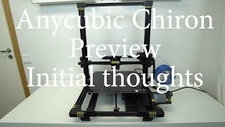 Anycubic Chiron 3D printer review