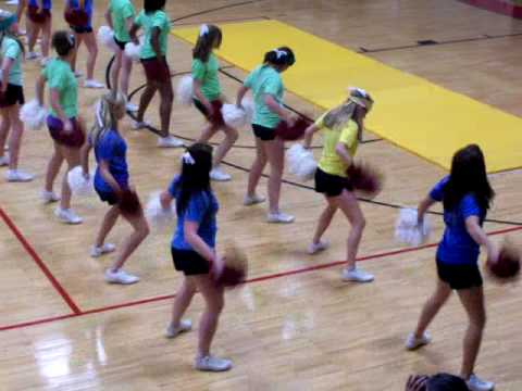 Shelby County High School HC Routine 2009 (Cheerleaders)