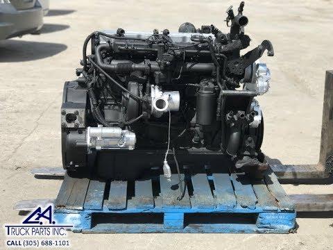 CUMMINS ISB 5 9L 300HP Diesel Engine WALK AROUND S/N 60281900 | CA TRUCK  PARTS