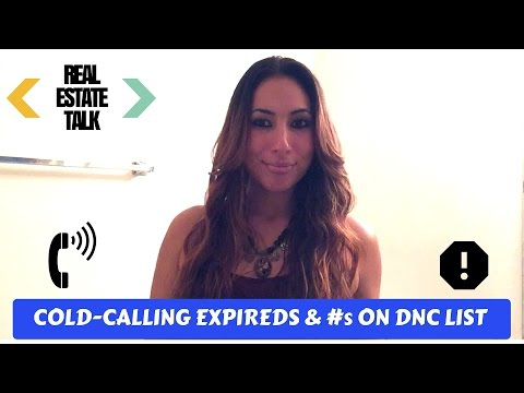 Cold-Calling Expireds And Numbers On DNC List