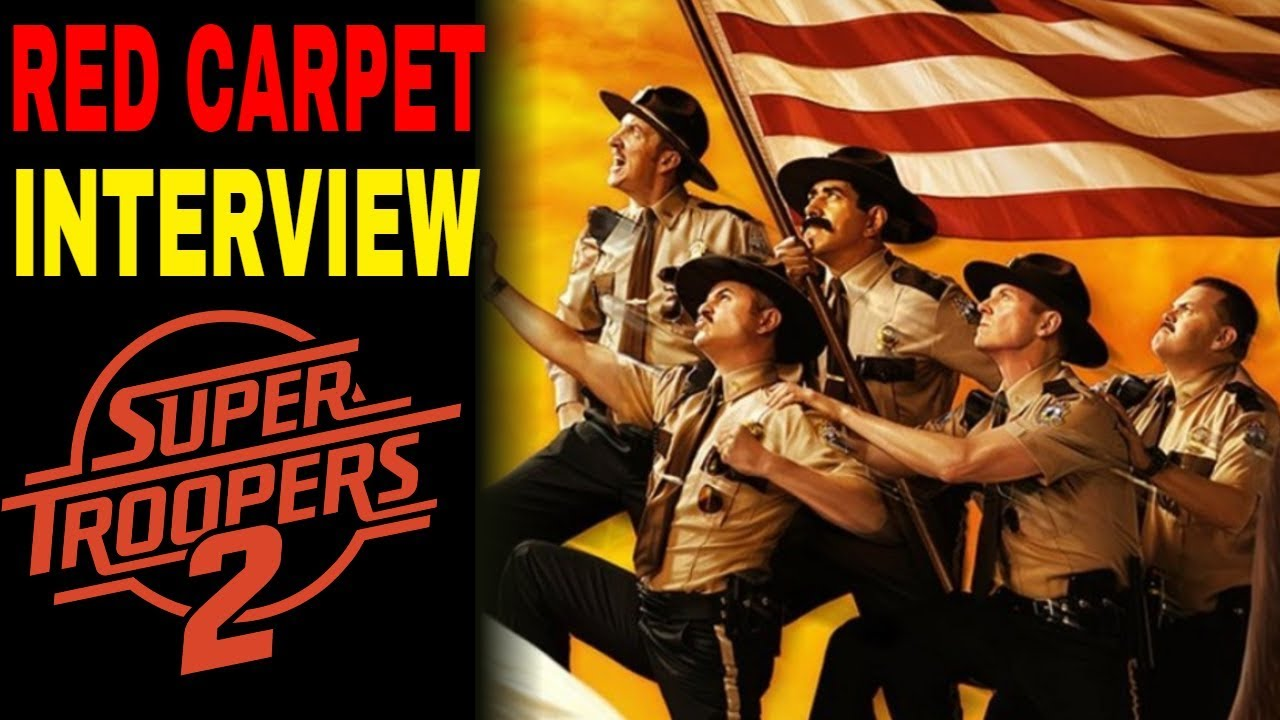 Super Troopers 2 Chicago Red Carpet Interview
