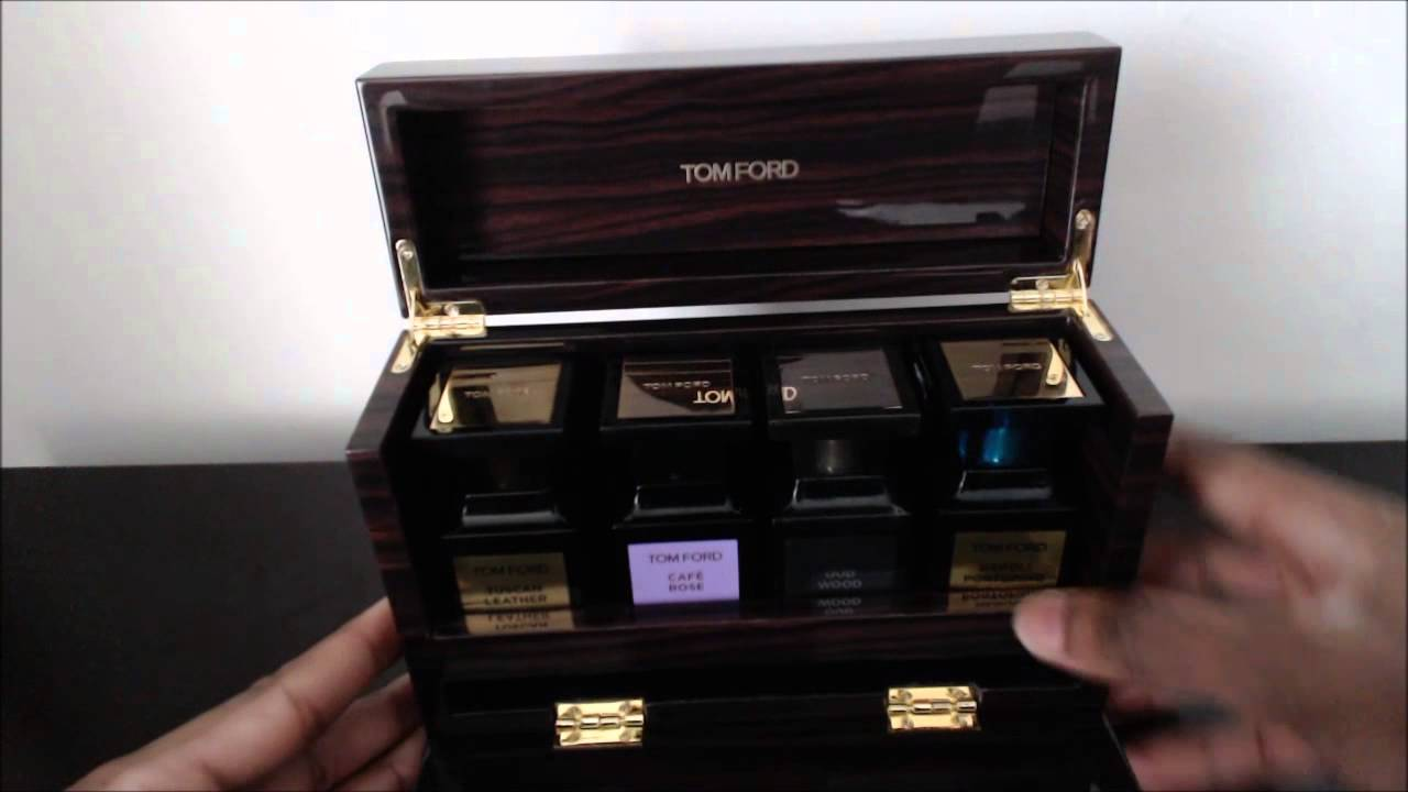 Tom Ford Private Blends Wooden Coffret Review The Presentation