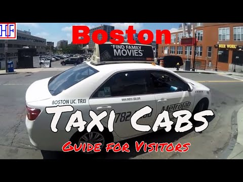 Boston | Taxi Cabs | Tourist Information | Episode# 3