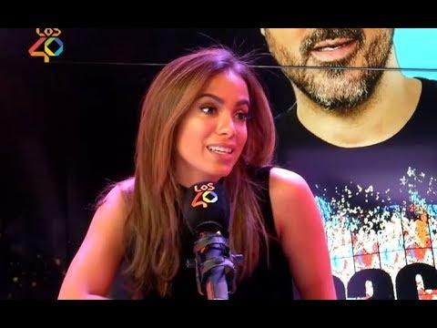 Maluma ou J Balvin? Anitta escolhe  LEGENDADO entrevista en Espanha