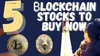 5 BEST Bitcoin Blockchain Stocks To Buy NOW as BTC Smashes $57,000!   MARA, RIOT + More!