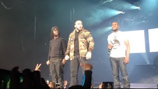Kery James Bercy 2013 - La ligue (Kery, Youssoupha et Medine)