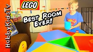 Giant LEGO ROOM for HobbyFrog