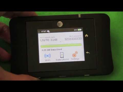 AT&T Unite Pro Review.  4G LTE WiFi HotSpot Tested In Real World Settings