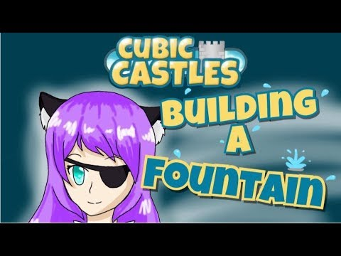 Building a Fountain In Friendship Sky | Cubic Castles Speed Build