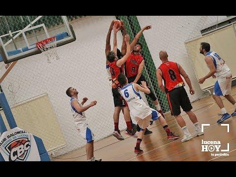 VÍDEO: Segundo partido de la final del Club Baloncesto Ciudad de Lucena