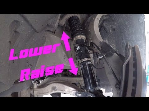 How to Adjust Coilovers - Detailed Walkthrough on a 370Z