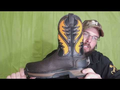 26692f838fd Ariat venttek work boots review work men's Workhog orange Vent Tek ...