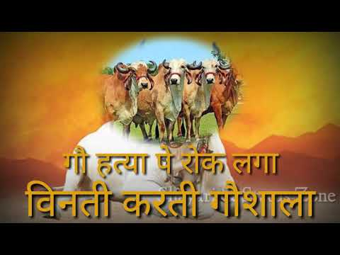 गौ-हत्या-बन्द-करो-|-gau-hatya-pe-rok-laga-|-गौमाता-|-dilip-shadangi-|-krishna-bhajan-status-2018