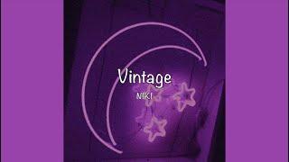 Download / Vintage - NIKI (Lyrics) /