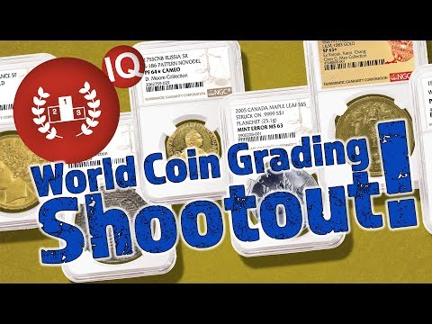 CoinWeek IQ: World Coin Grading Shootout! - 4K Video