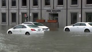 Heavy rainfall floods streets, damages homes in Ottawa