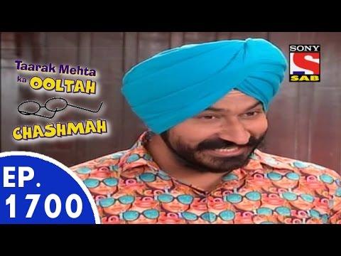 Taarak Mehta Ka Ooltah Chashmah - तारक मेहता - Episode 1700 - 22nd June, 2015