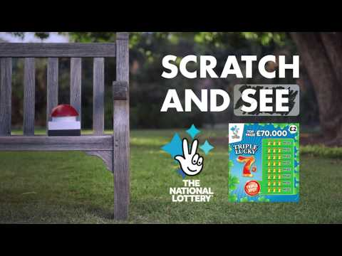 Scratchcards From The National Lottery - Harriet's Red Button Date