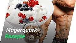 3 Schnelle & leckere MAGERQUARK Rezepte für den Muskelaufbau! | Andiletics