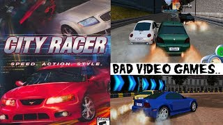 City Racer / Downtown Run - Gamecube Gameplay - Bad Video Games Series HD
