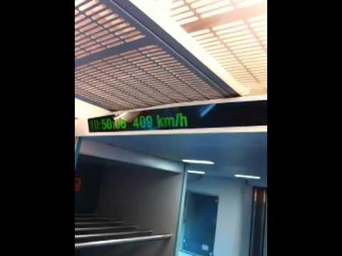 Magnetic levitation train Shanghai Frank Furness Travel Tips