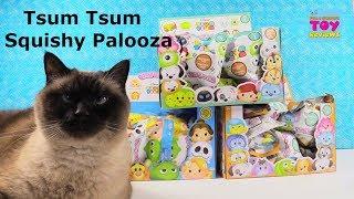 Disney Tsum Tsum SquishDeeLish Palooza Series 1 2 3 Unboxing | PSToyReviews