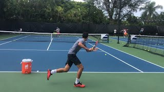 Tennis practice | professional training with ATP player and coach Brian Dabul in Miami