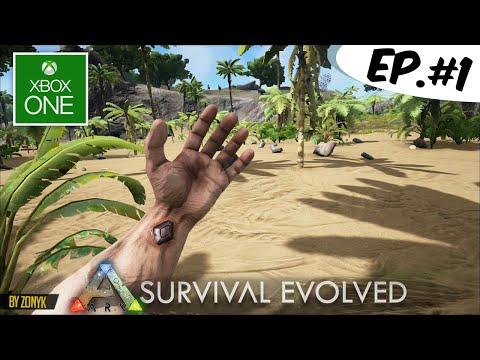 Ark Survival Evolved XBOX ONE - Primeros 30 Minutos de Gameplay (ARK en Español)