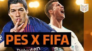 FIFA 18 x PES 2018: Qual o melhor?