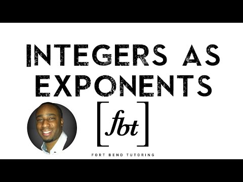Integers As Exponents: Positive, Zero And Negative Exponents [fbt]