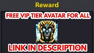 Free Vip TierAvatar For All Accounts || Hurry Up LImited Time || 2018