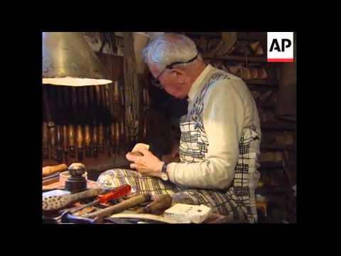 France - Oldest Shoemaker