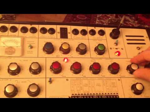 EMS Synthi . . . Shepard - Risset Tone Patch