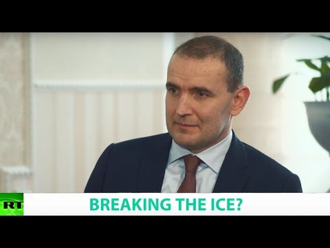 BREAKING THE ICE? Ft. Gudni Johannesson, President of Iceland