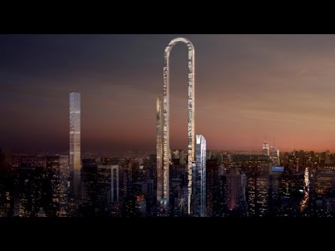 New York's 'Big Bend' Could be the Longest Skyscraper in the World