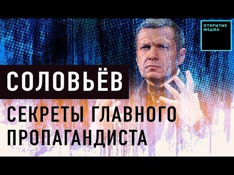 Владимир Соловьёв: пропаганда, Путин, вилла в Италии | Кто управляет Россией