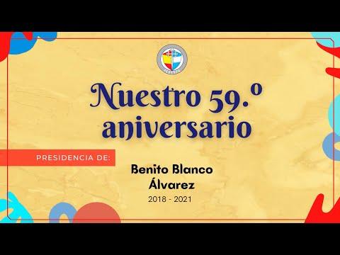 Nuestro 59.º aniversario