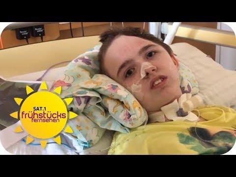 Betrunkener Raser überfährt Alina (13): Alina für immer ein Pflegefall   SAT.1 Frühstücksfernsehen
